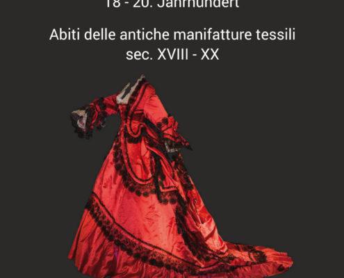 Historische Kostume aus textilen Manufakturen 18 - 20. Jahrhundert