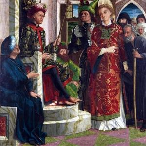 Textilien in der Malerei des Mittelalters und der frühen Neuzeit
